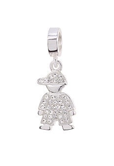 Belk Silverworks April Boy Originality Bead Charm