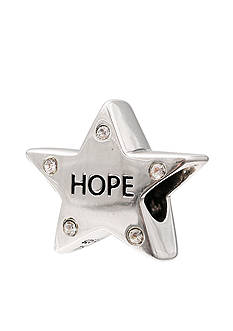 Belk Silverworks Crystal Hope Star Originality Bead