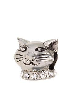 Belk Silverworks Crystal Cat Originality Bead