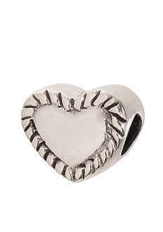 Belk Silverworks Heart Originality Bead