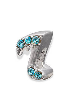 Belk Silverworks Sterling Silver Blue Crystal Music Note Originality Bead