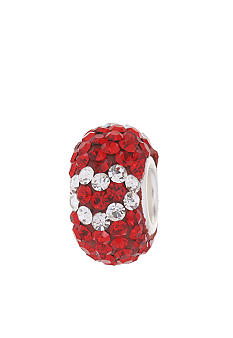 Belk Silverworks Red Heart Crystal Originality Bead