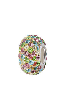 Belk Silverworks Multi Color Crystal Originality Bead