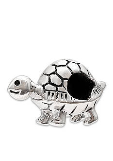 Belk Silverworks Sterling Silver Oxidized Turtle Originality Bead