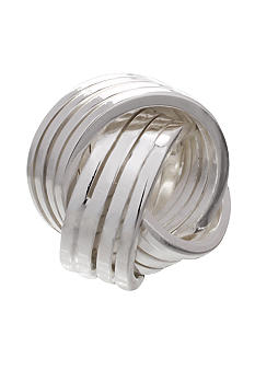 Belk Silverworks Striped Love Knot Originality Bead