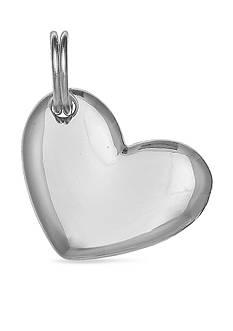 Belk Silverworks Charm Bar Heart Charm