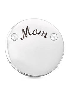Belk Silverworks Charming Lockets Mom Polished Disc Coin Charm