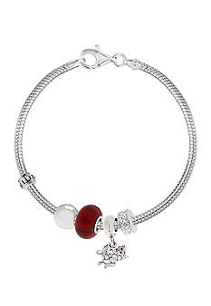 Belk Silverworks I Love You Originality Bead Bracelet Set
