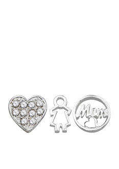 Belk Silverworks Charming Lockets My Little Princess Set of Three Charms