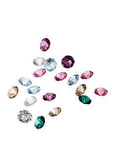 Belk Silverworks Charming Lockets Set of 20 Multicolor Crystals