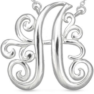 Jewelry & Watches: Belk Silverworks Gift Guide: A Belk Silverworks PD FSP 17.5 MONOGR K
