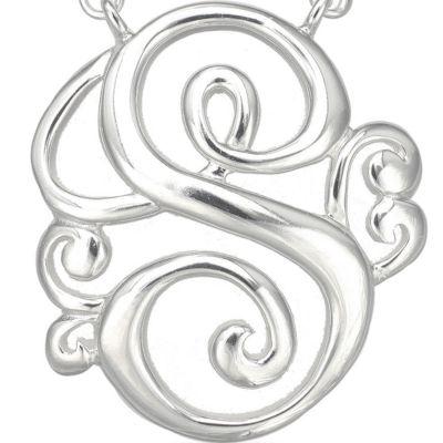 Jewelry & Watches: Belk Silverworks Gift Guide: S Belk Silverworks PD FSP 17.5 MONOGR K