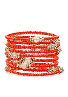 Jules B Gold-Tone Sun Kissed Coil Bracelet