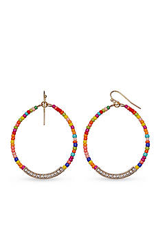 Jules B Kaleidoscope Multi Color Teardrop Drop Earrings