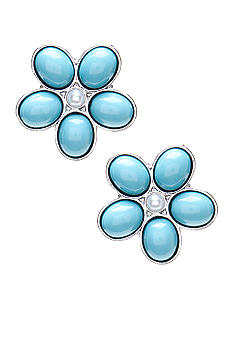 Kim Rogers Spring Blossom Collection Clip Earrings