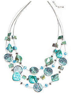 Kim Rogers Ikat Collection Necklace