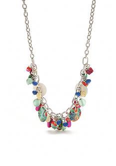 Kim Rogers Silver-Tone Paradiso Collar Necklace