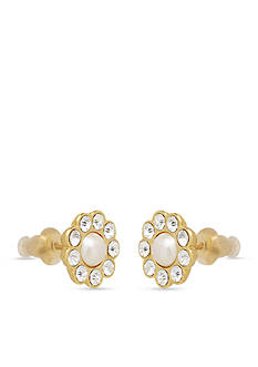 kate spade new york Park Avenue Pearl Stud Earrings