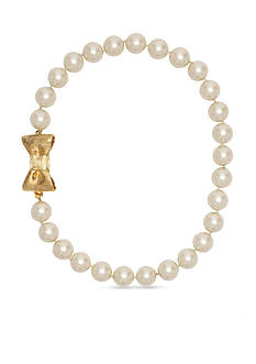 kate spade new york All Wrapped Up Pearl Necklace