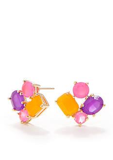kate spade new york Vivid Cluster Earrings