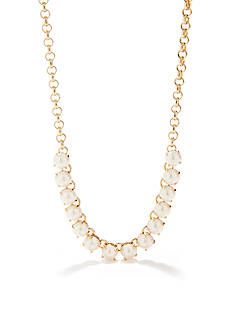 kate spade new york Squared Away Cream Necklace