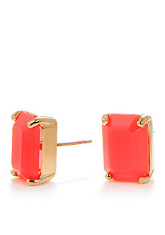 kate spade new york Emerald Cut Stud Earring