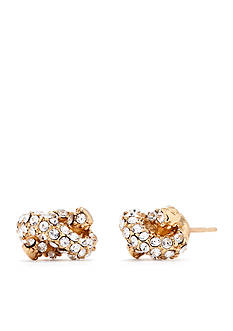 kate spade new york Sailor's Knot Pave Studs