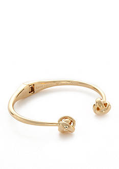 kate spade new york Gold-Tone Knot Cuff Bracelet