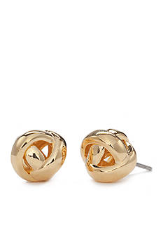 kate spade new york Gold-Tone Knot Stud Earrings