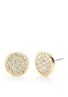 kate spade new york Dainty Sparklers Pave Stud Earrings