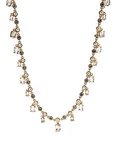 kate spade new york Pearl and Crystal Strand Necklace
