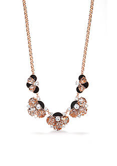kate spade new york Fame and Flowers Statement Necklace