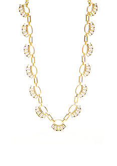 kate spade new york Clink of Ice Baguette Necklace