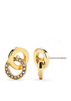 kate spade new york Gold-Tone Stud Earrings