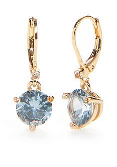kate spade new york Gold-Tone Lever Back Earrings