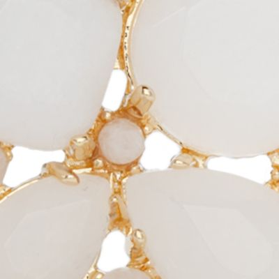 Designer Earrings: White kate spade new york Cluster Stud Earring