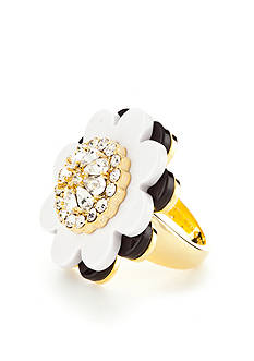 kate spade new york Gold-Tone Shadow Blossoms Ring