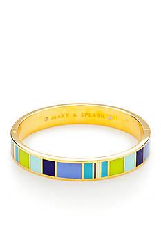 kate spade new york Gold-Tone Make a Splash Bangle Bracelet