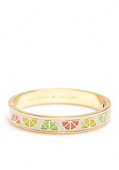 kate spade new york Gold-Tone Sweet Deal Bangle Bracelet