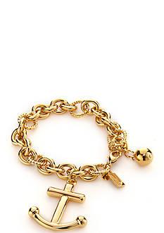 kate spade new york Gold-Tone Anchors Away Bracelet