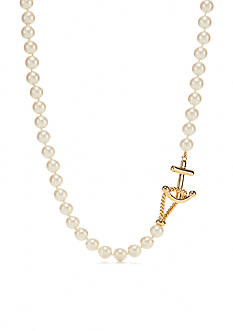 kate spade new york Gold-Tone Anchors Away Collar Necklace