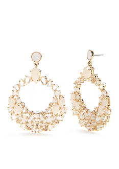 kate spade new york Gold-Tone At First Blush Drop Earrings