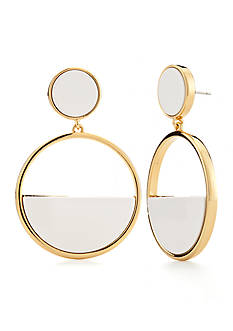 kate spade new york Gold-Tone Drop Earrings