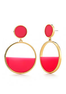 kate spade new york Gold-Tone Drop Earrings