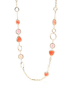 kate spade new york Gold-Tone Sun Kissed Sparkle Long Necklace
