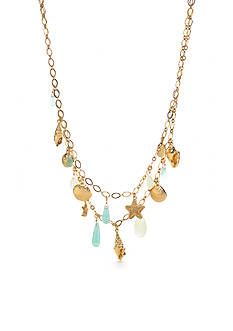kate spade new york Gold-Tone Under the Sea Multistrand Necklace