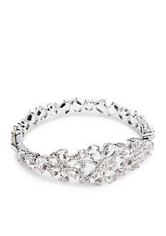 kate spade new york Silver-Tone Be Adorned Bangle Bracelet
