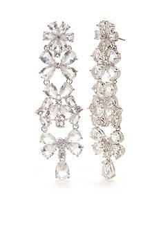 kate spade new york Silver-Tone Be Adorned Chandelier Earrings