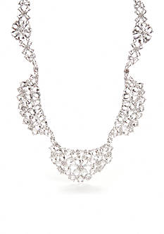 kate spade new york Silver-Tone Be Adorned Statement Necklace