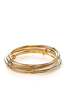 kate spade new york Gold-Tone Stack Attack Bangle Bracelet